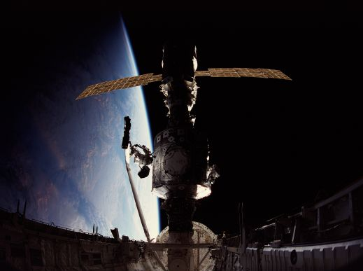 Construction of International Space Station Begins