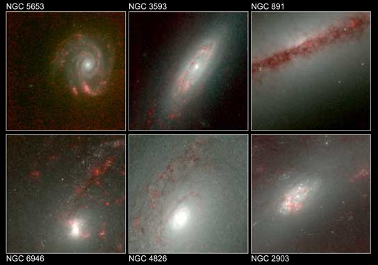 An Infrared Galaxy Gallery