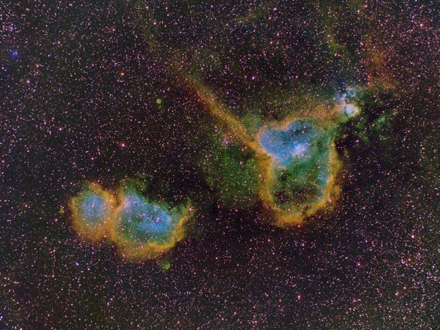 The Heart and Soul Nebulas