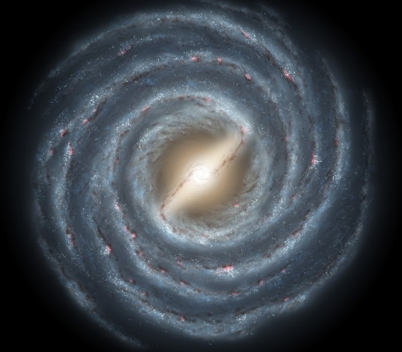 Barred Spiral Milky Way