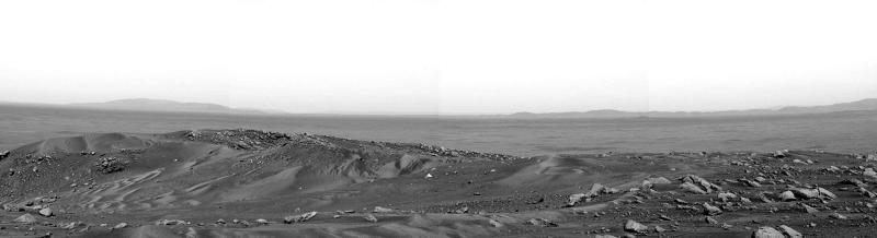 The View from Husband Hill on Mars