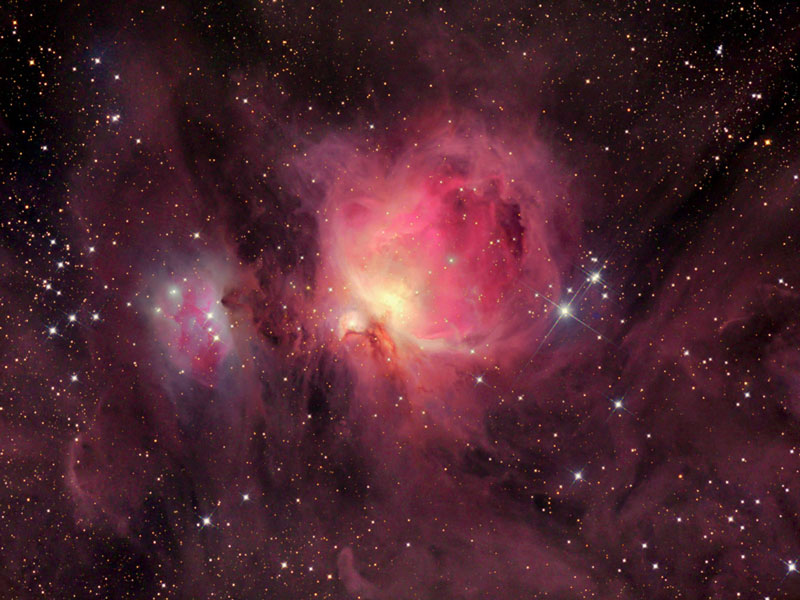 M42 wisps of the orion nebula for Nebula material