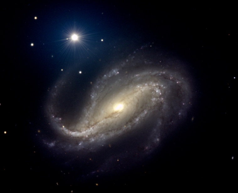 NGC 613: Spiral of Dust and Stars
