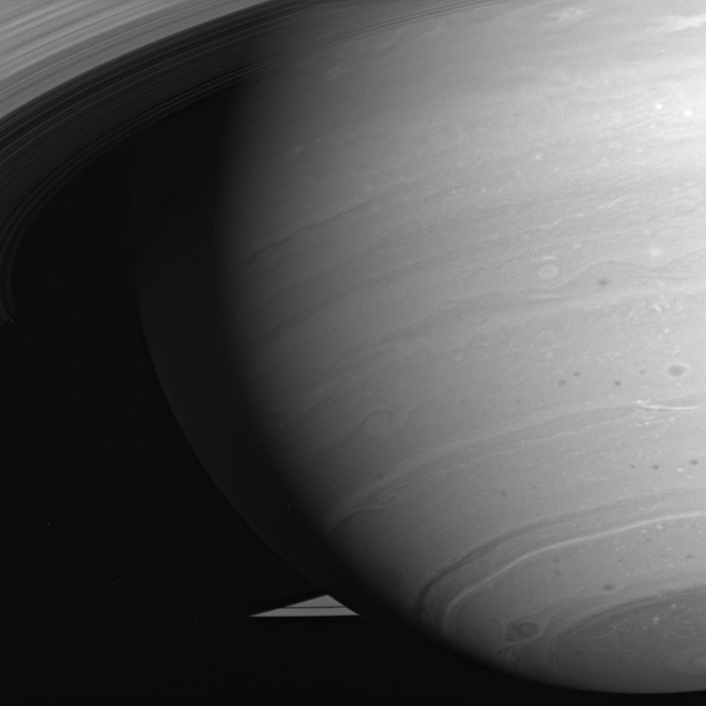 The Swirling Storms of Saturn
