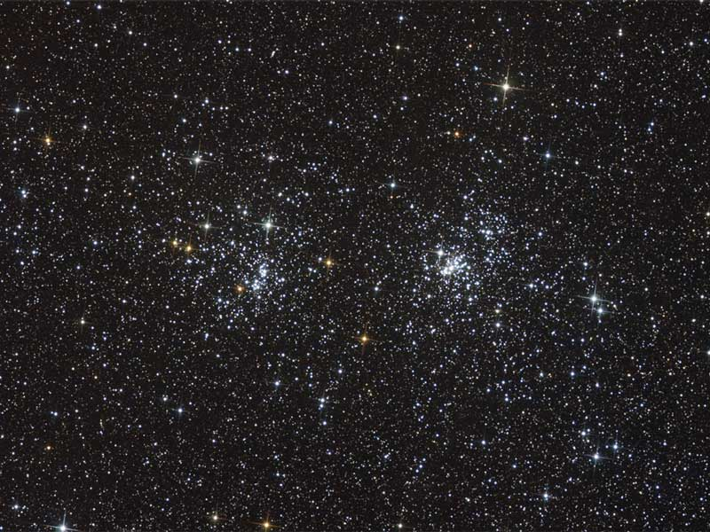 NGC 869 and NGC 884: A Double Open Cluster