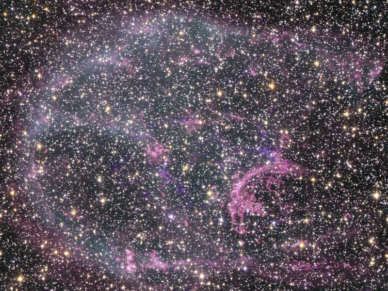 Supernova Remnant N132D in Optical and X Rays
