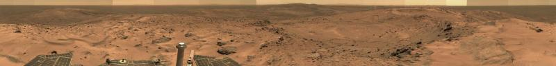Everest Panorama from Mars