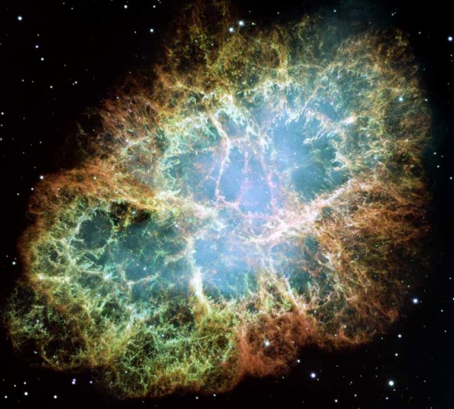 Crab Nebula Mosaic from HST