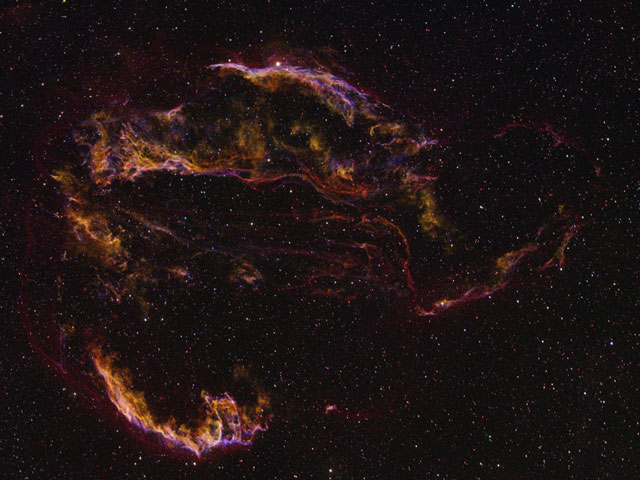 The Veil Nebula Unveiled