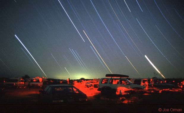 Star Party Trails
