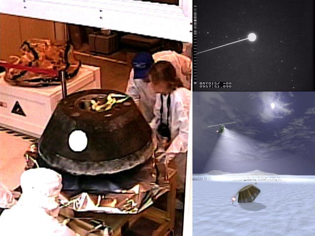Stardust Capsule Returns to Earth