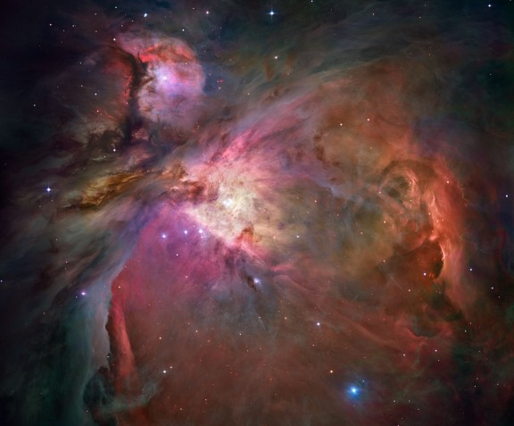Orion Nebula, The Hubble View