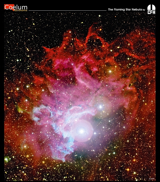 The Flaming Star Nebula from CFHT