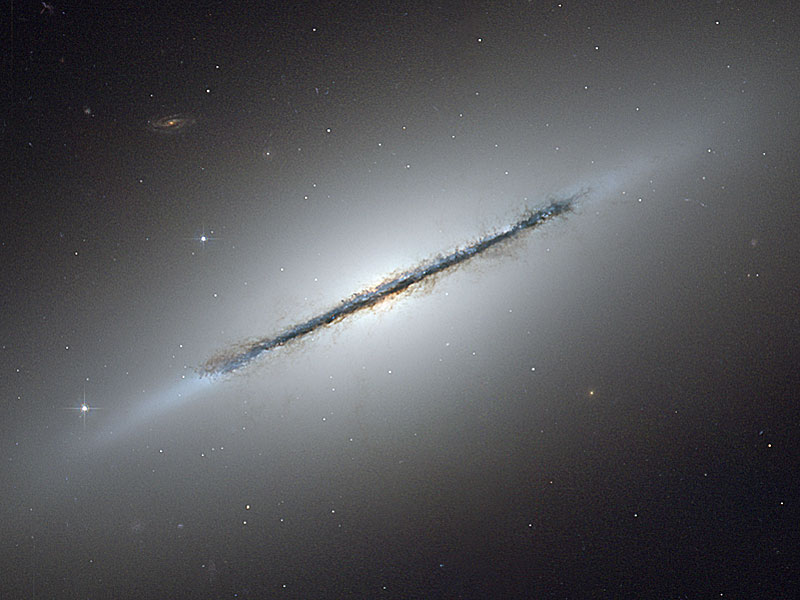 Edge On Galaxy NGC 5866
