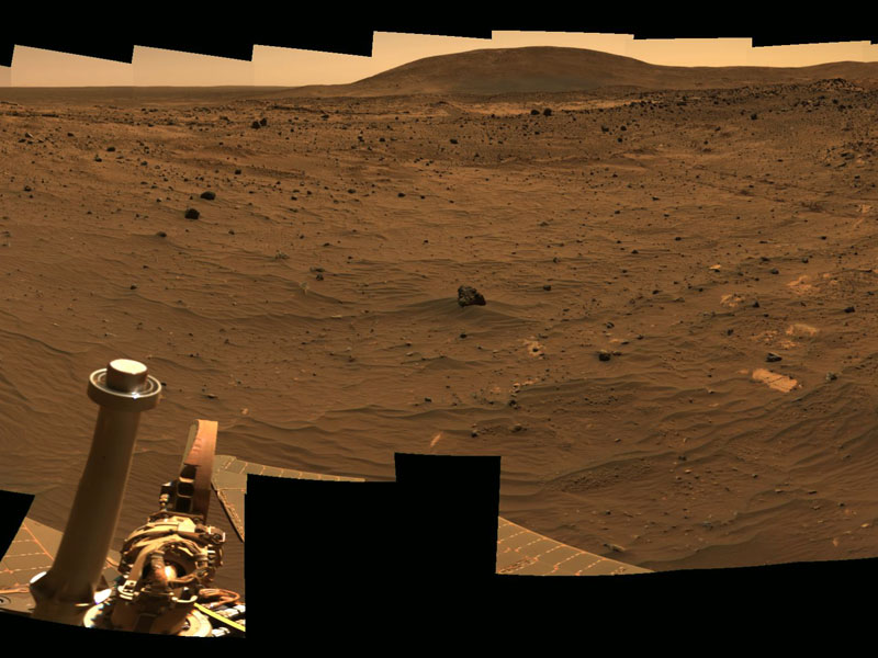 The View toward Husband Hill on Mars