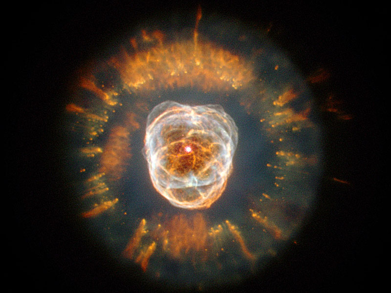 The Eskimo Nebula from Hubble