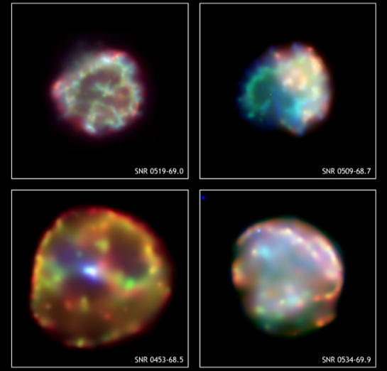 Four Supernova Remnants