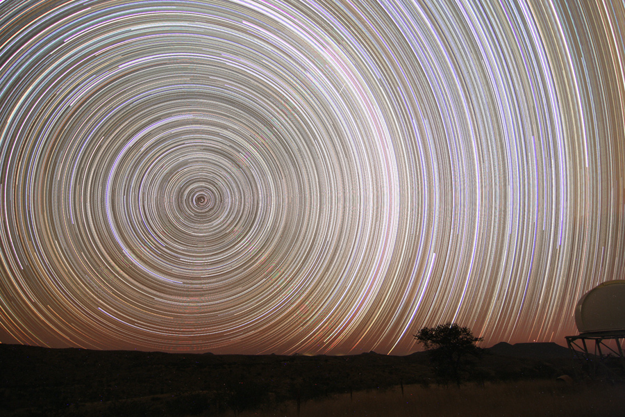 11 Hour Star Trails