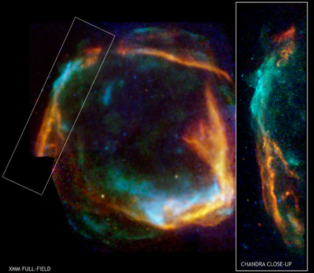 APOD: 2006 September 28- RCW 86: Historical Supernova Remnant