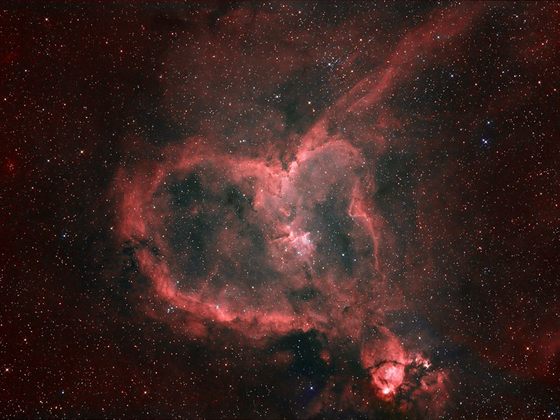 Light from the Heart Nebula