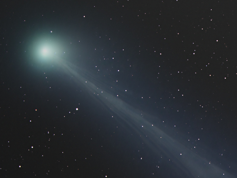 The Ghostly Tail of Comet SWAN