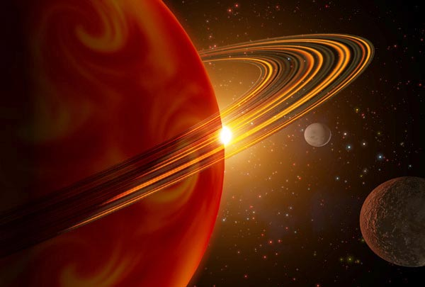 Saturn-Sized Worlds Discovered