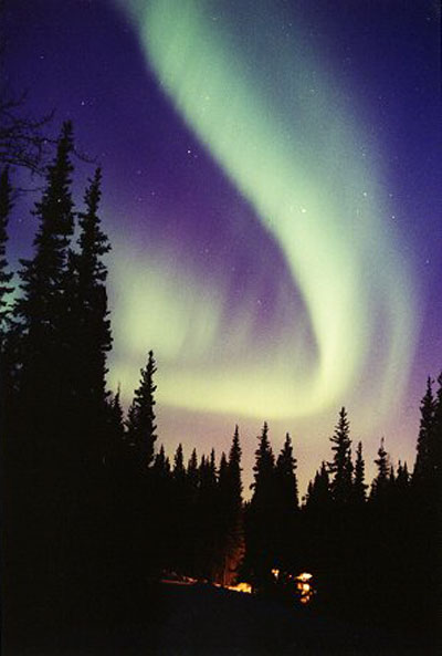 An Aurora Before the Storm
