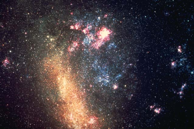 Neighboring Galaxy: The Large Magellanic Cloud