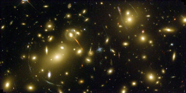 Abell 2218: A Galaxy Cluster Lens
