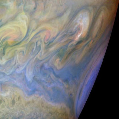 West Of The Great Red Spot