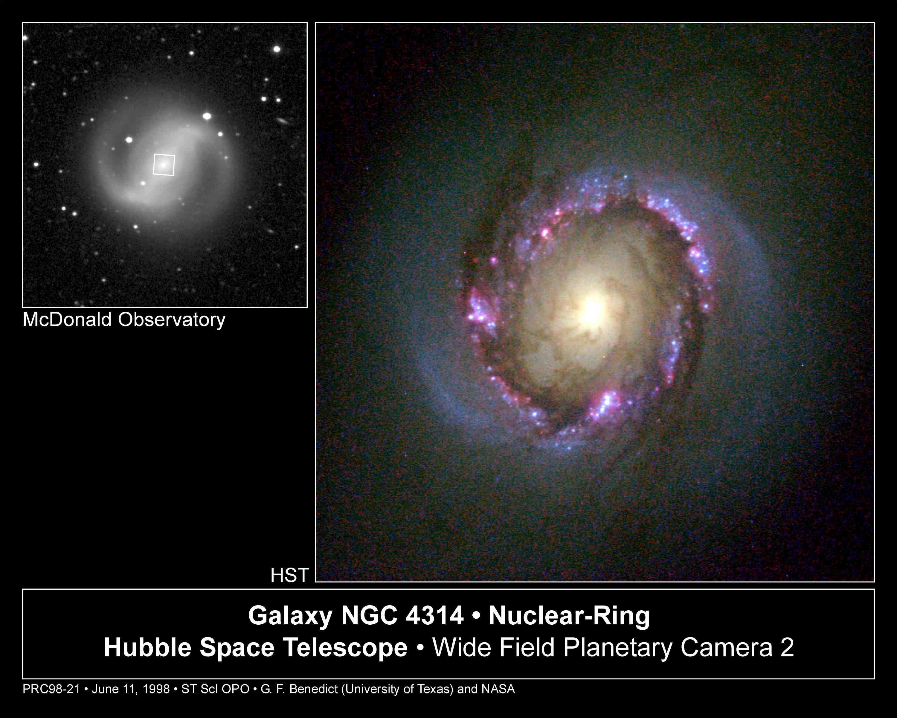NGC 4314: A Nuclear Starburst Ring
