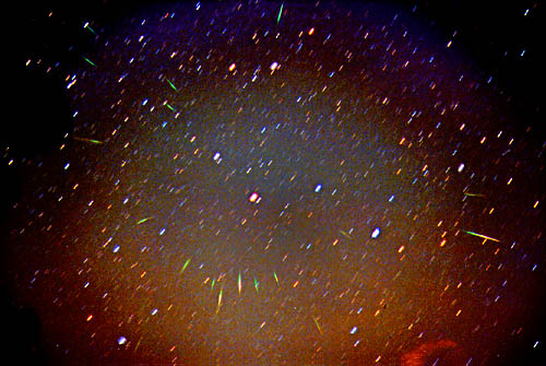 A Leonids Meteor Storm in 1999
