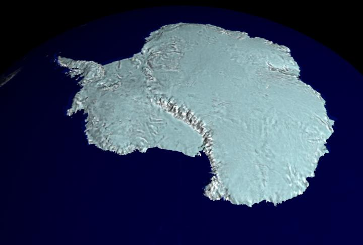 A RADARSAT Map of Antarctica