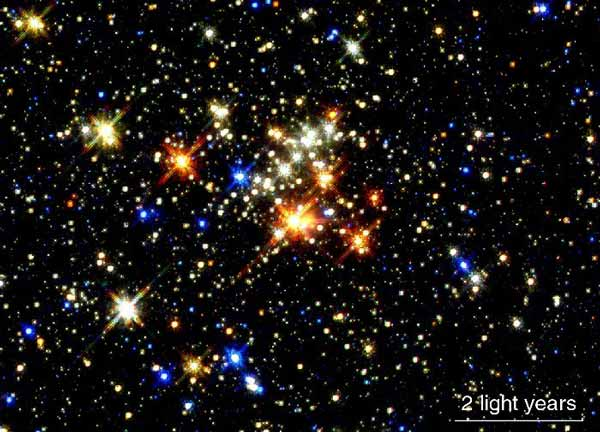 The Quintuplet Star Cluster