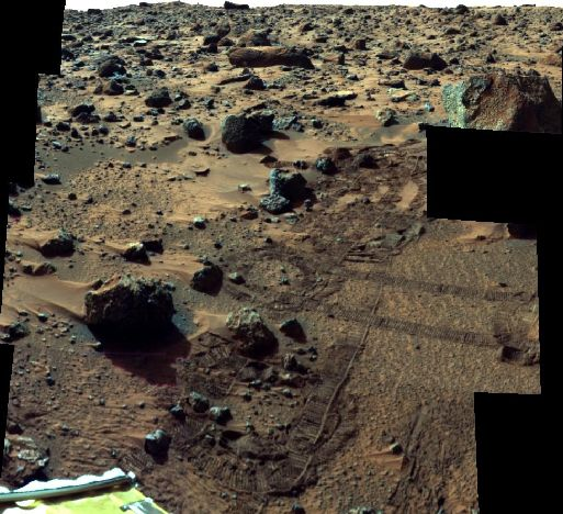 Mars Pathfinder Super Pan