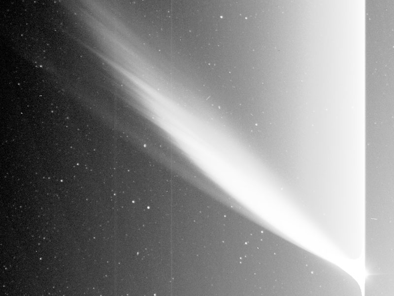 Comet McNaught from New STEREO Satellite