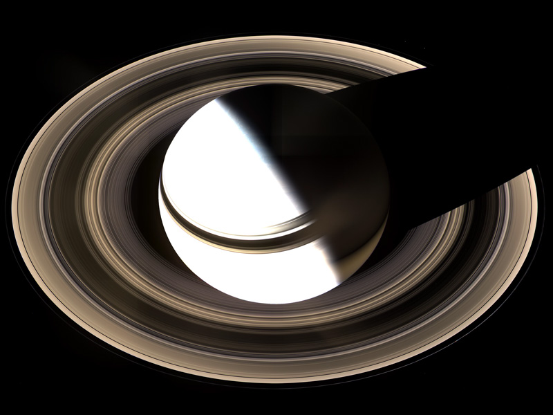 Saturn from Above