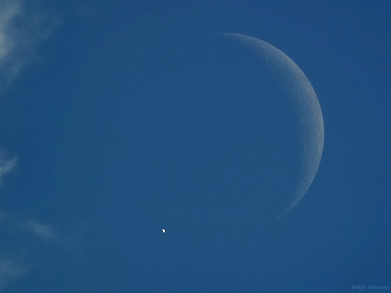 A Daylight Eclipse of Venus