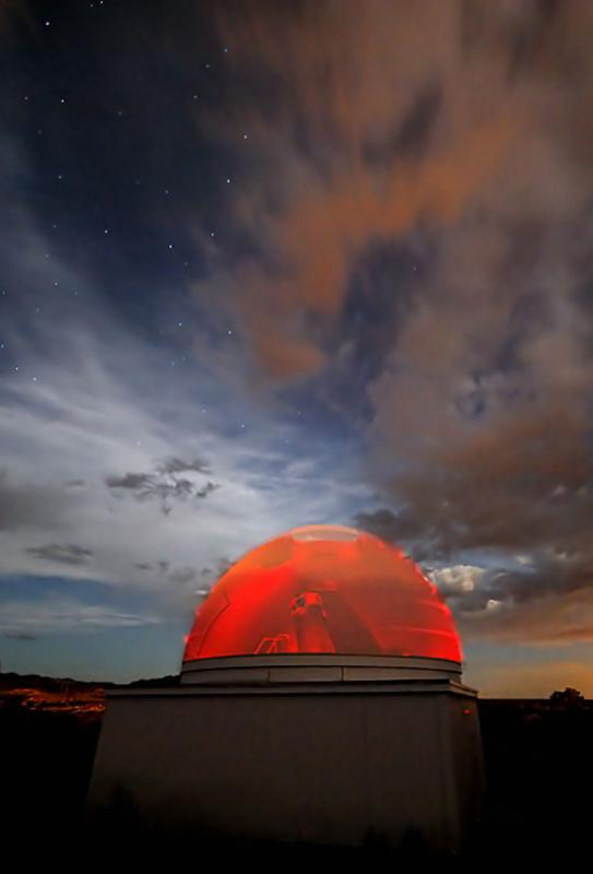 A Red Dome Under the Big Dipper