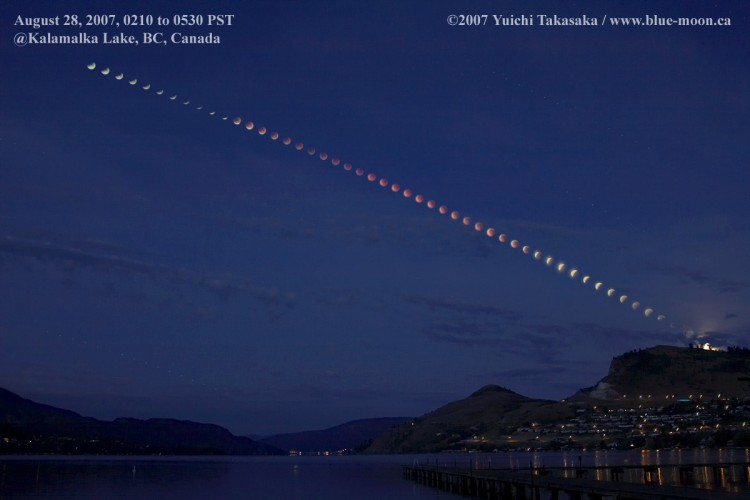 Kalamalka Lake Eclipse