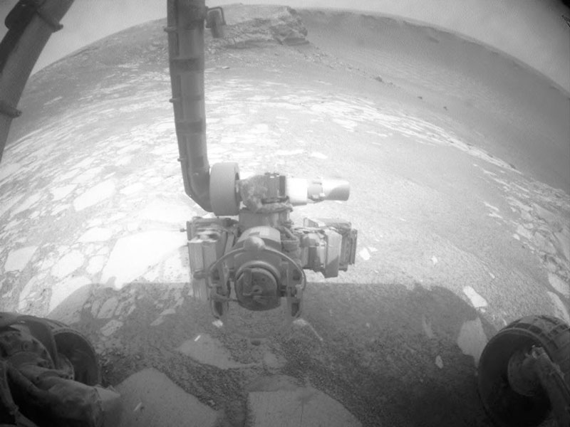 Inside Victoria Crater on Mars