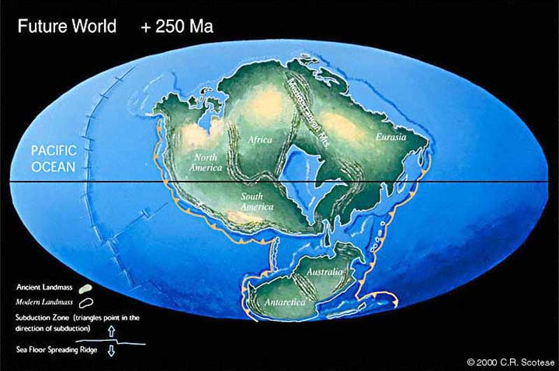 Pangea Ultima: Earth in 250 Million Years