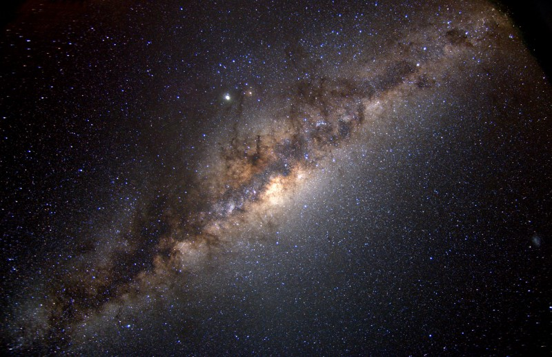 The Milky Way at 5000 Meters