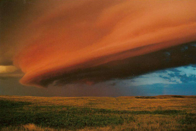 Shelf Cloud Over Saskatchewan
