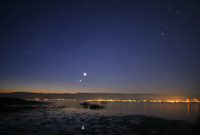 Venus and Jupiter in Morning Skies