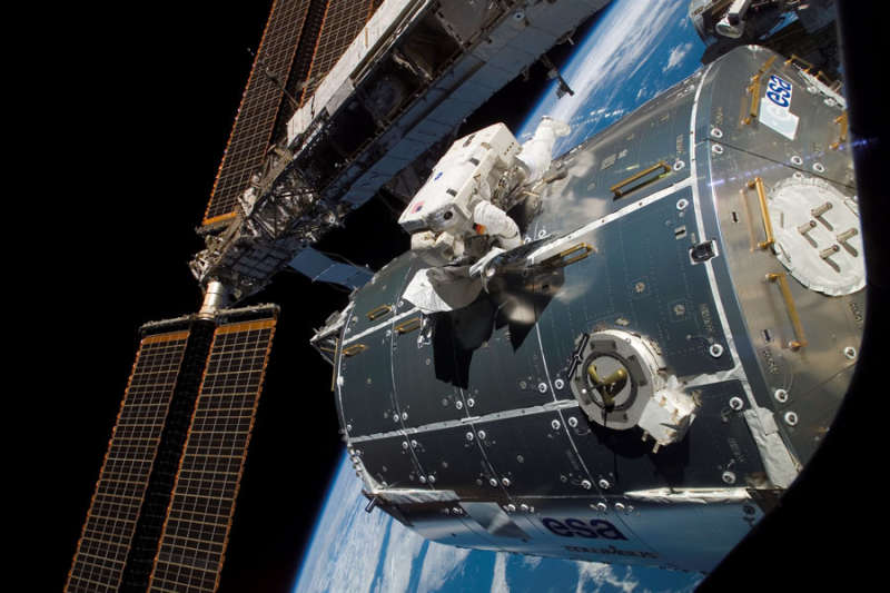 Columbus Laboratory Installed on Space Station