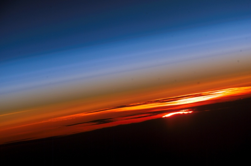 Sunset: Planet Earth