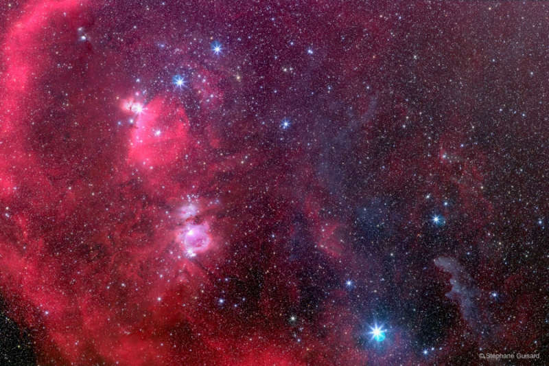 Southern Orion: From Belt to Witch