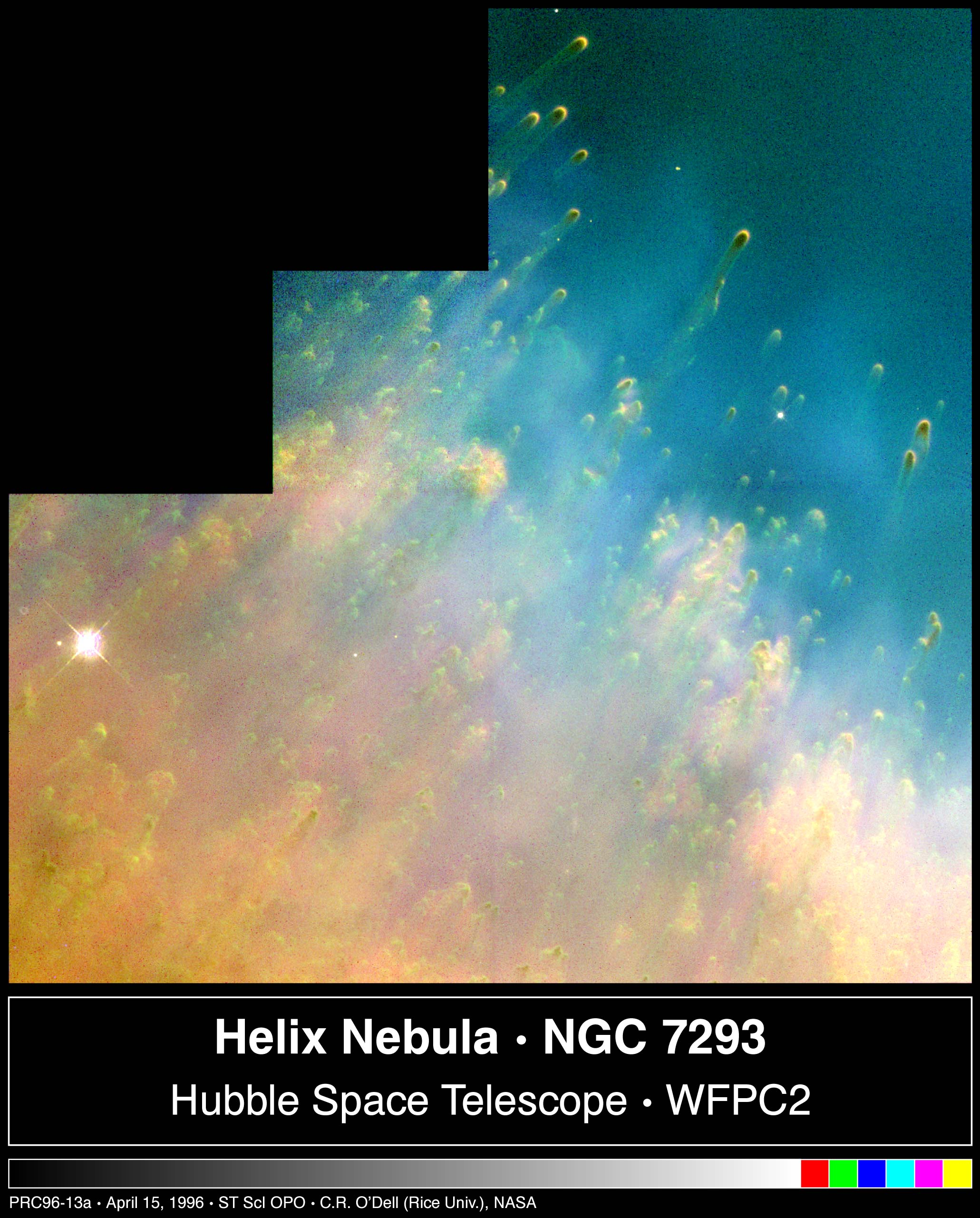 Curious Cometary Knots in the Helix Nebula
