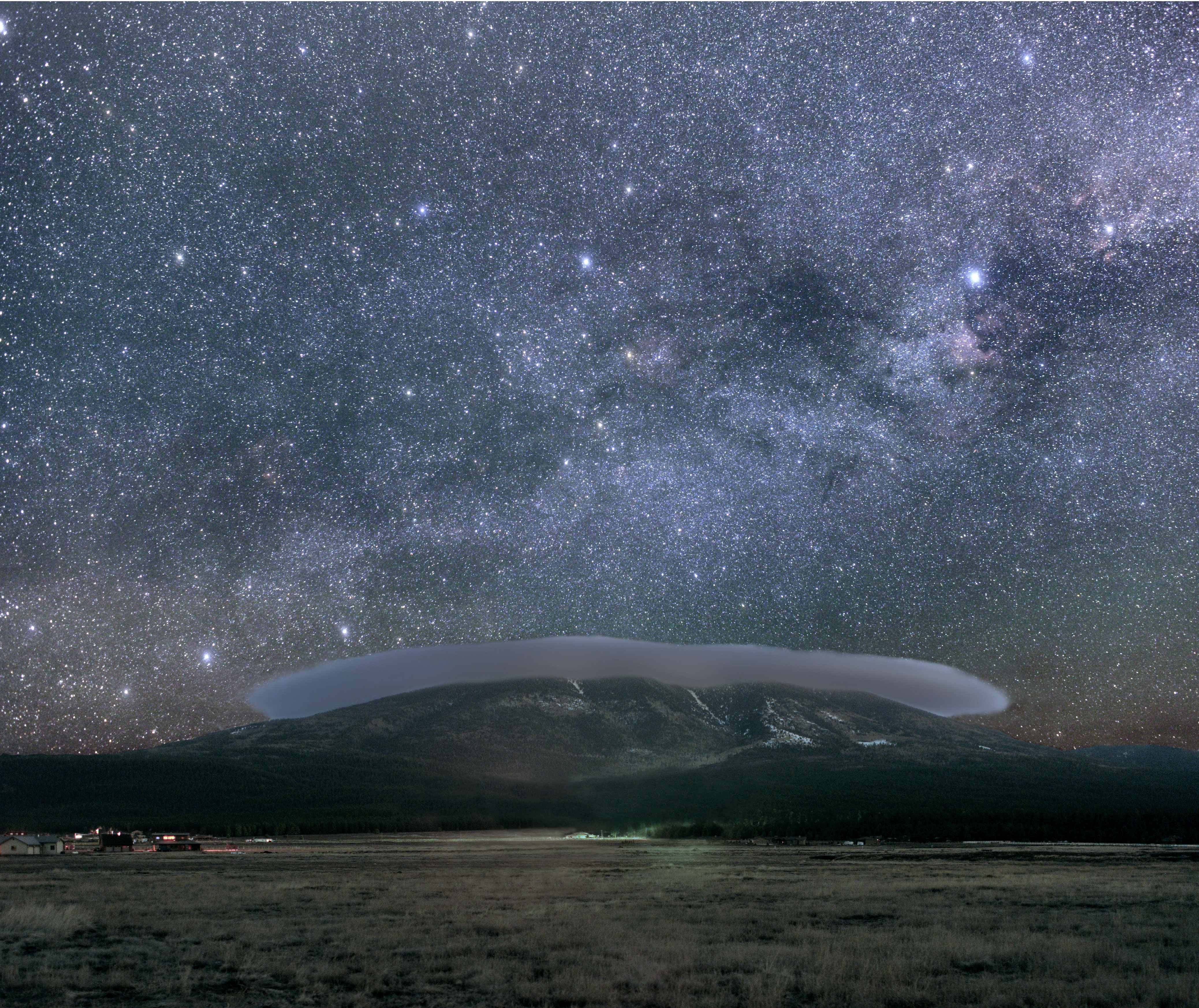 A Protected Night Sky Over Flagstaff